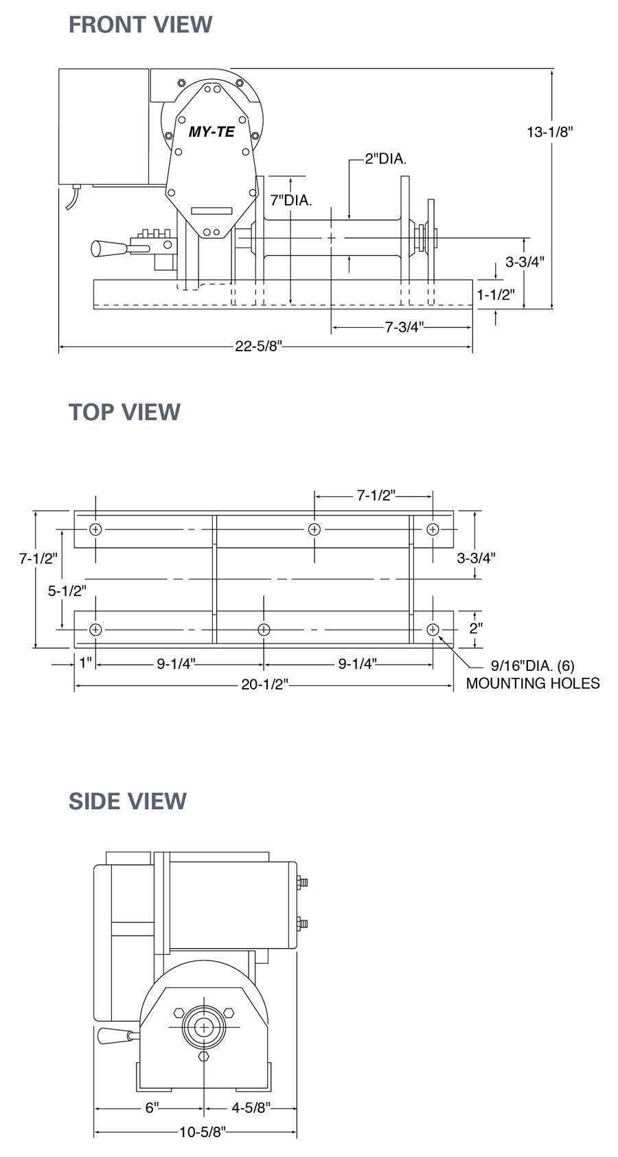 Max Electric Winch-Hoist AC36B – Arizona Wire Rope on
