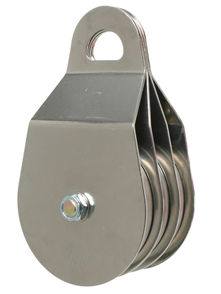 JRS Entertainment - Stainless Steel Pulley