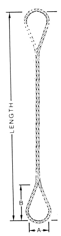Hand Splice Eye – Type HS-1-1 – Arizona Wire Rope