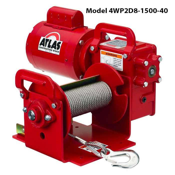 Series 4WP2D Electric Winch