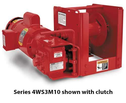 Series 4WS Electric Winch
