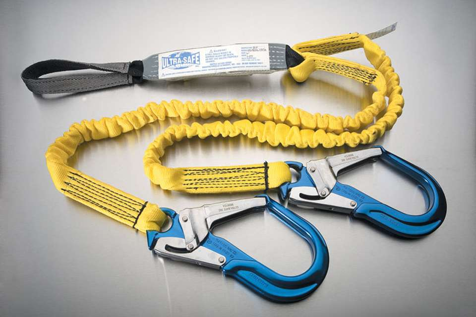 Ultra Stretch Shock Absorbing Y-Lanyard