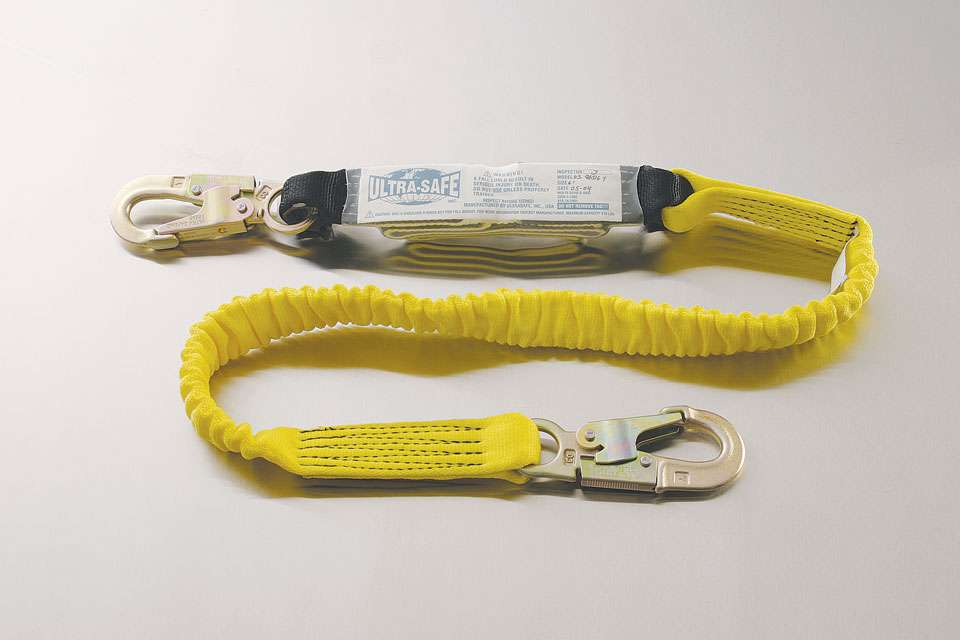 Ultra Stretch Shock Absorbing Lanyard