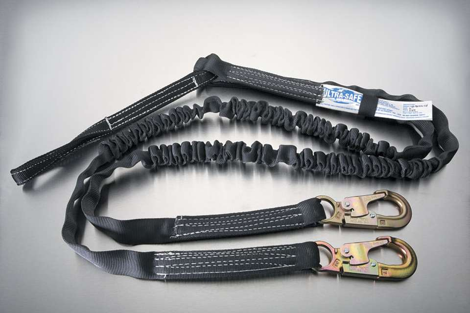 Ultra Tube Shock Absorbing Y-Lanyard