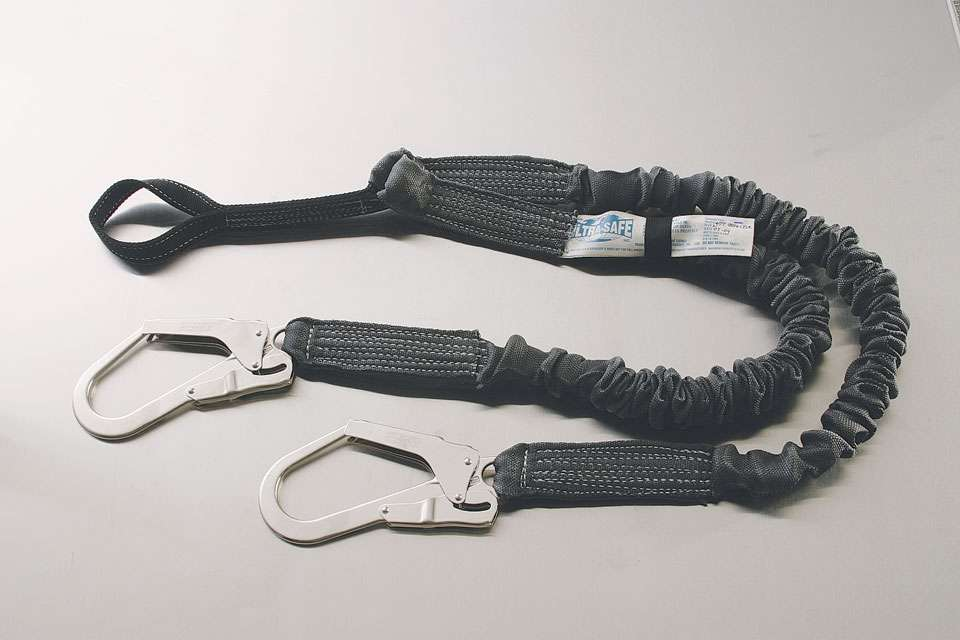 Ultra Tube Two Shock Absorbing Y-Lanyard