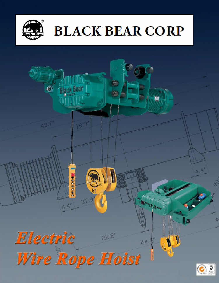 BB Electric Wire Rope Hoists