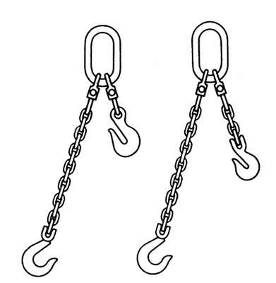 adjustable chain slings