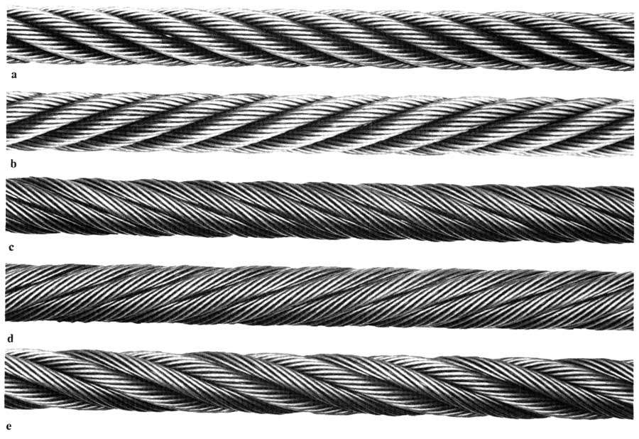 wire rope identification