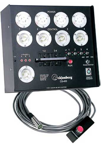 CS 400 Manual Control