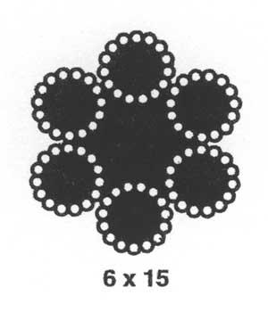 6x15 lashing wire