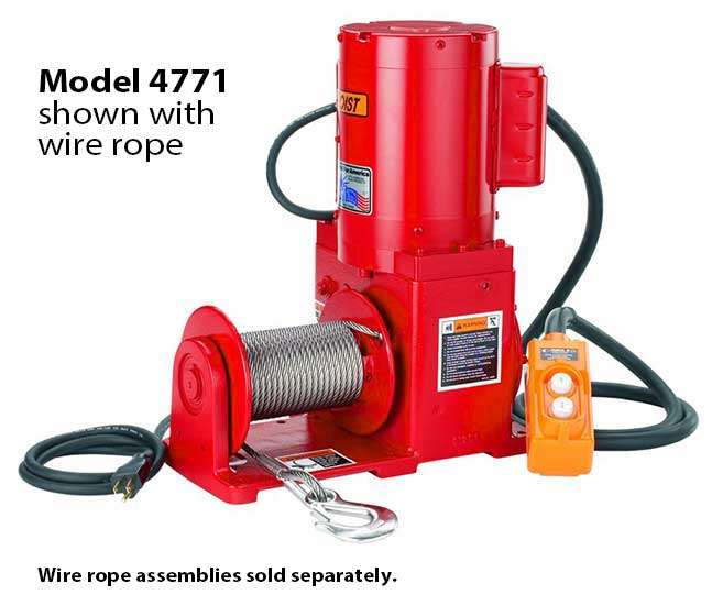 Series 477 Electric Winches