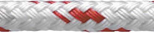 Polyester Double Braid - Red Fleck
