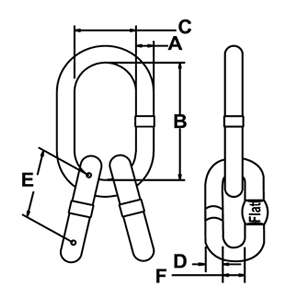 Rigging Hardware Links - Sub Assembly
