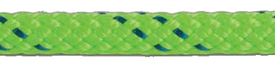 Kernmantle Rope - Green with Blue Tracer