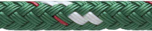 Polyester Double Braid - Green