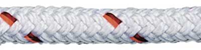 Vectran Rope V100 - White with Tracer